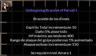 unforgiving parvati bracelet